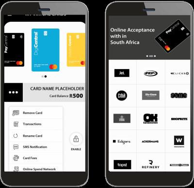 Paycentral app dashboard